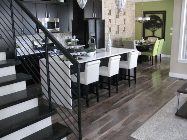 Chateau laminate flooring hart floor co for Model home flooring